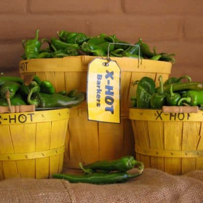Snake Ranch Farm Extra Hot Barkers green chiles