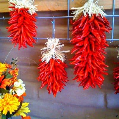 Bushels of piquin flowers